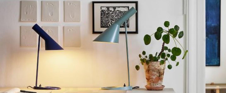 Lampe a poser aj mini gris l18 3cm h43 3cm louis poulsen normal