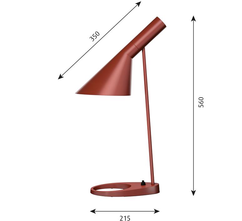 Aj arne jacobsen lampe a poser table lamp  louis poulsen 5744165646  design signed 48525 product
