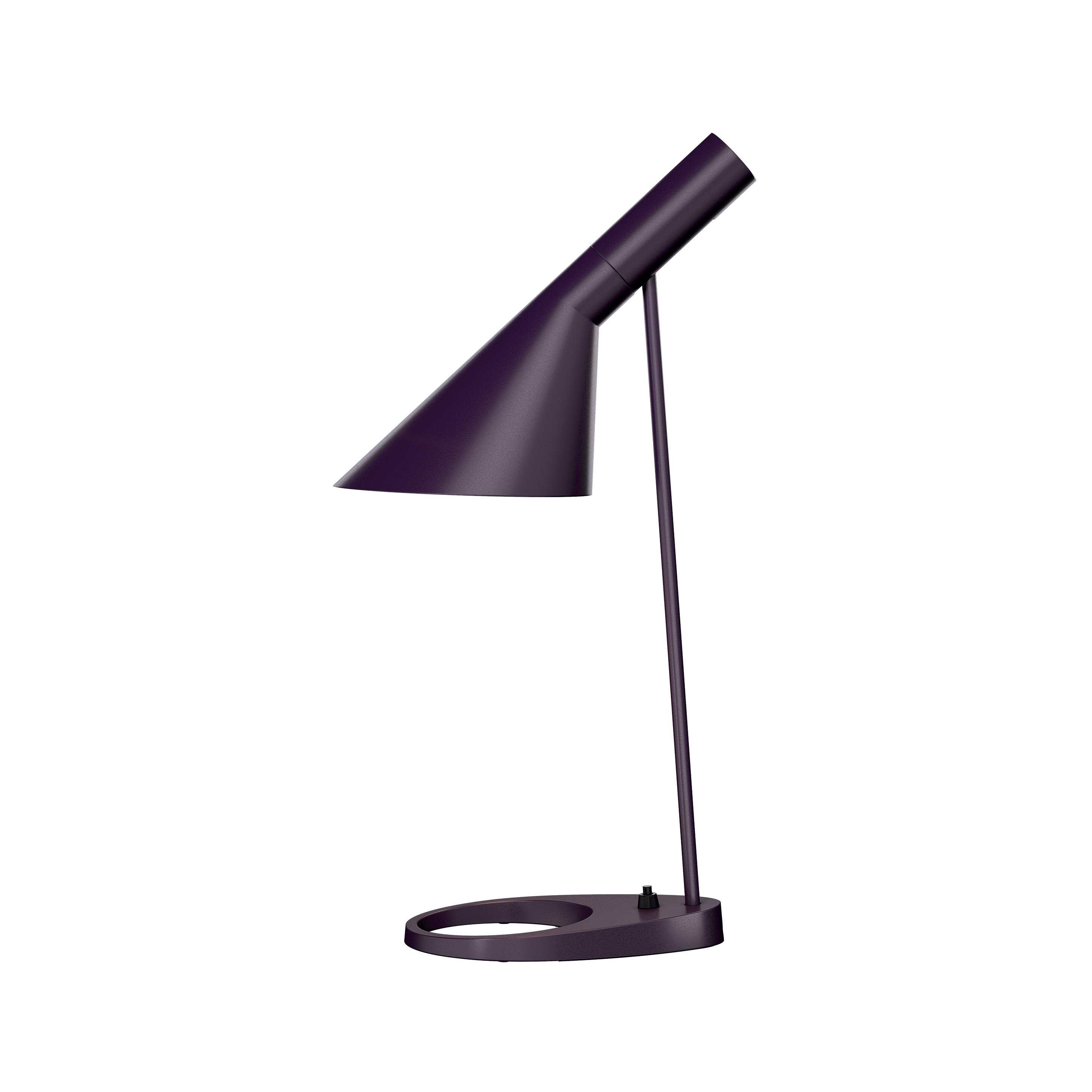lampe poser aj violet l21 5cm h56cm louis poulsen. Black Bedroom Furniture Sets. Home Design Ideas