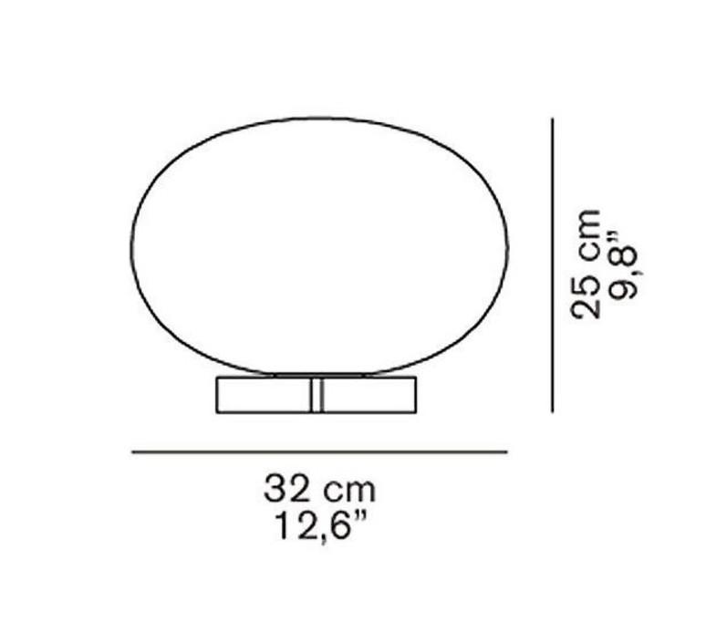 Alba 265 mariana pellegrino lampe a poser table lamp  oluce alba265  design signed 40530 product