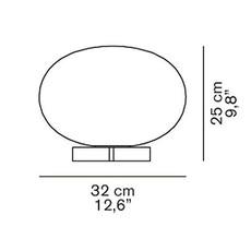 Alba 265 mariana pellegrino lampe a poser table lamp  oluce alba265  design signed 40530 thumb