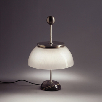 Lampe a poser alfa blanc o30cm h48cm artemide normal