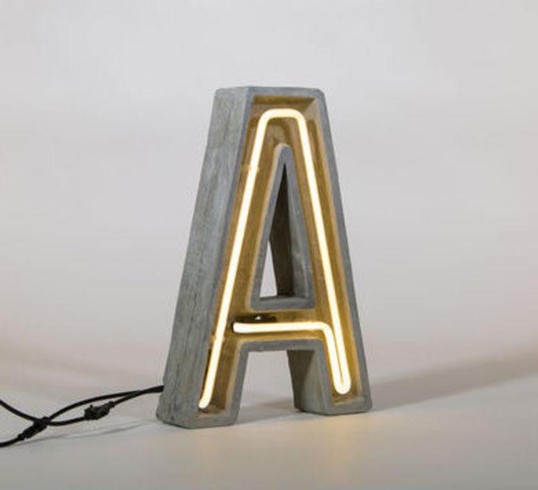 Alphacrete a bbmds lampe a poser table lamp  seletti 01415 a  design signed 40621 product