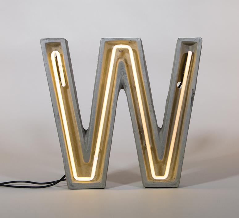 Alphacrete w bbmds lampe a poser table lamp  seletti 01415 w  design signed 40679 product