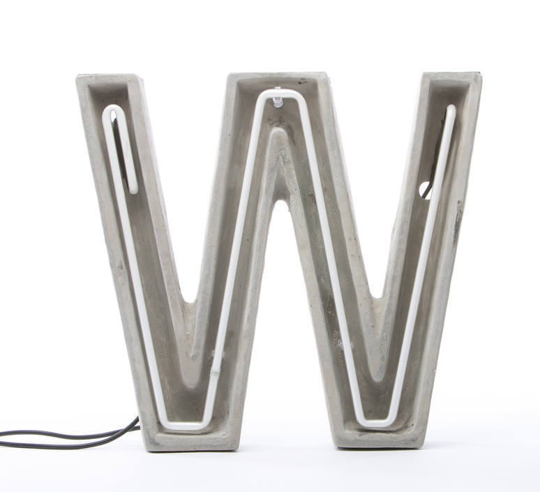 Alphacrete w bbmds lampe a poser table lamp  seletti 01415 w  design signed 40680 product