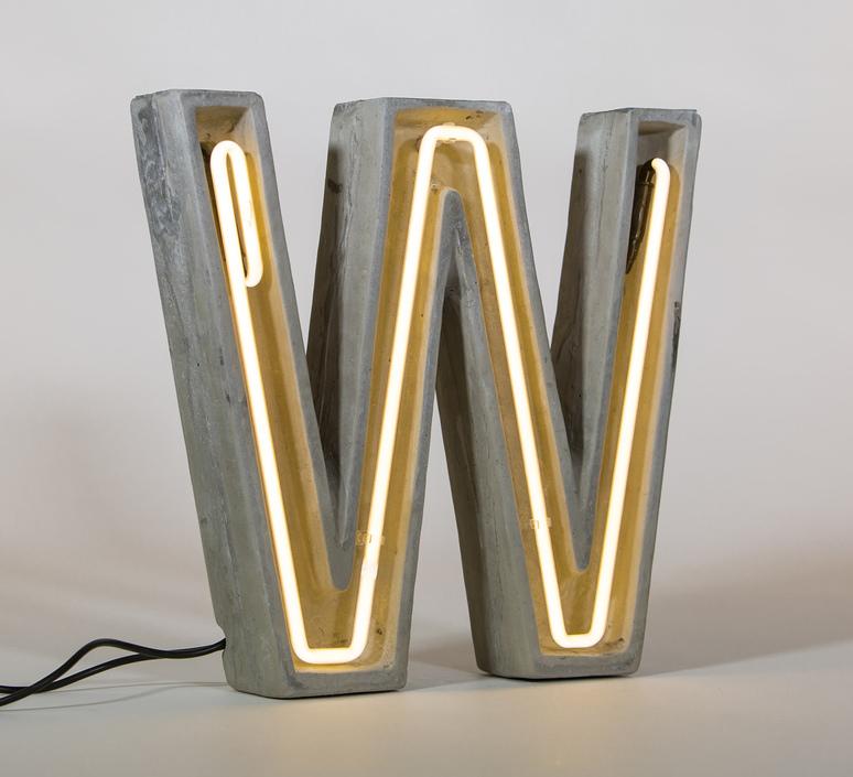 Alphacrete w bbmds lampe a poser table lamp  seletti 01415 w  design signed 40681 product