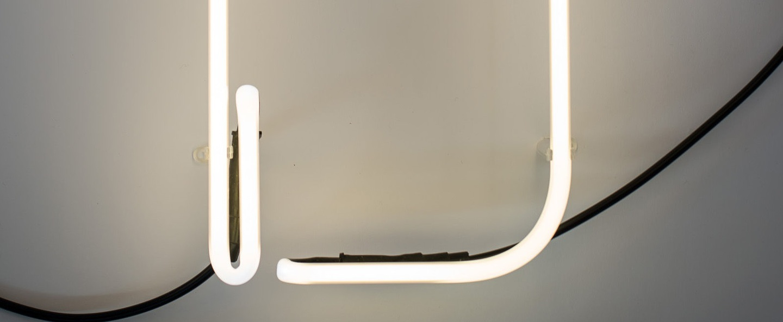 Lampe a poser alphafont d blanc l15 7cm h35cm seletti normal