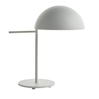 Lampe a poser aluna blanc o27cm h42 6cm bolia normal