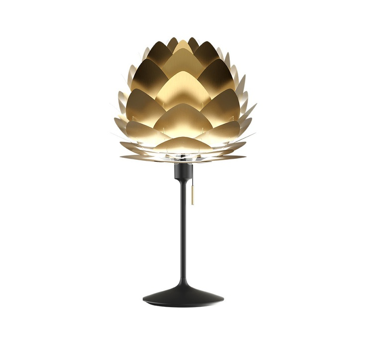 Aluvia brushed brass mini umage design studio lampe a poser table lamp  vita copenhagen 2122 4046  design signed nedgis 65644 product