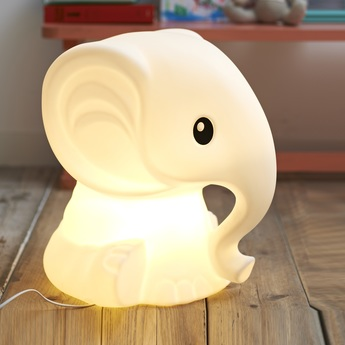Lampe a poser anana blanc h51cm mr maria normal