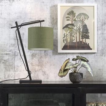 Lampe a poser andes vert foret o18cm h46cm good mojo normal