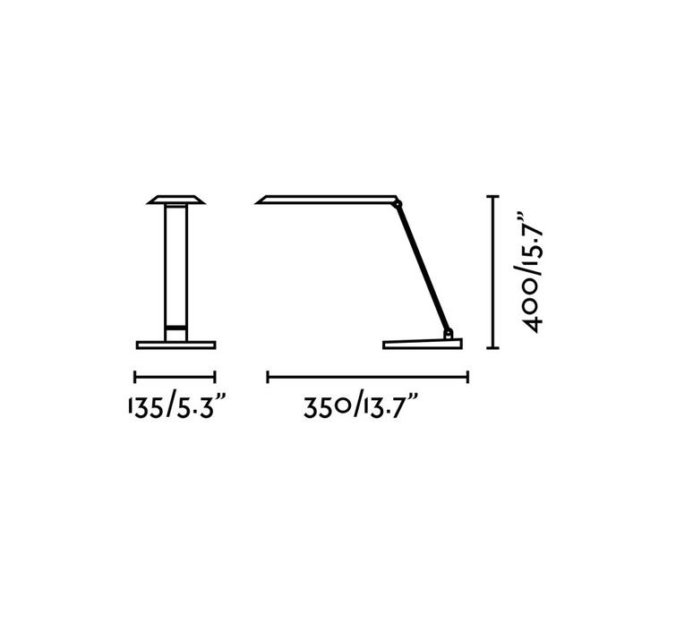 Anouk led estudi ribaudi lampe a poser table lamp  faro 53414  design signed nedgis 67986 product