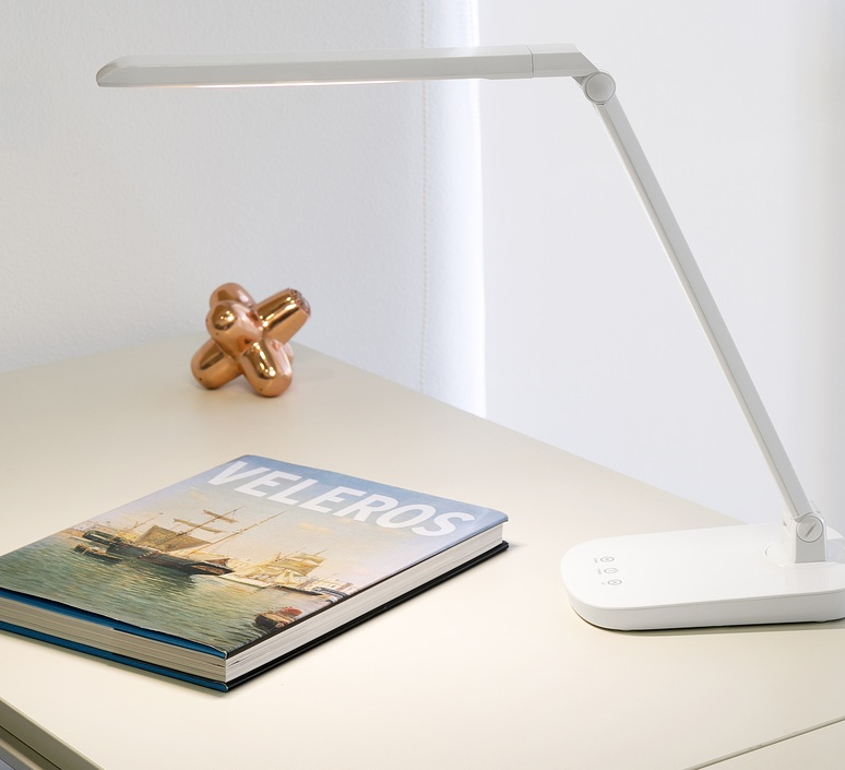 Anouk led estudi ribaudi lampe a poser table lamp  faro 53414  design signed nedgis 67987 product