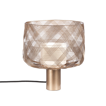 Lampe a poser antenna m champagne o29cm h34 5cm forestier normal