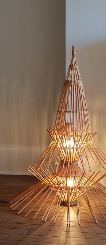 Lampe a poser ar65 rotin o70cm h96cm disderot normal