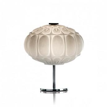 Lampe a poser arabesque blanc o30cm h23cm mm lampadari normal