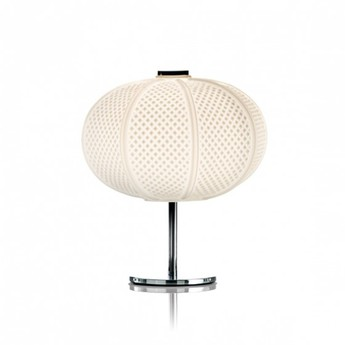 Lampe a poser arabesque blanc o30cm h33cm mm lampadari normal