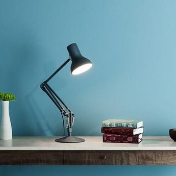 Lampe a poser architecte type 75 mini noir led o17cm h30cm anglepoise normal