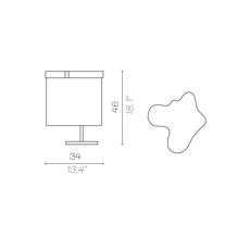 Arcipelago maiorca servomuto lampe a poser table lamp  contardi acam 002593  design signed nedgis 86822 thumb