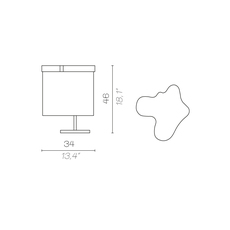 Arcipelago maiorca servomuto lampe a poser table lamp  contardi acam 002591  design signed nedgis 86816 thumb