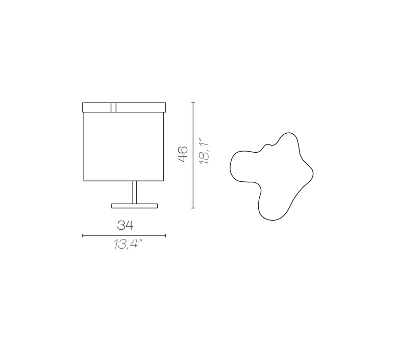 Arcipelago maiorca servomuto lampe a poser table lamp  contardi acam 002585  design signed nedgis 86842 product