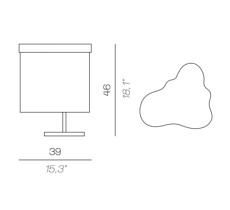 Arcipelago minorca servomuto lampe a poser table lamp  contardi acam 002581  design signed nedgis 86860 product