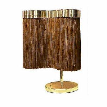 Lampe a poser arcipelago minorca cognac led 3000k 1800lm o39cm h46cm contardi normal