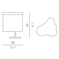 Arcipelago minorca servomuto lampe a poser table lamp  contardi acam 002575  design signed nedgis 86886 thumb