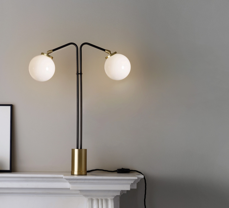 Array twin chris et clare turner lampe a poser table lamp  cto lighting cto 03 015 0001  design signed 56486 product