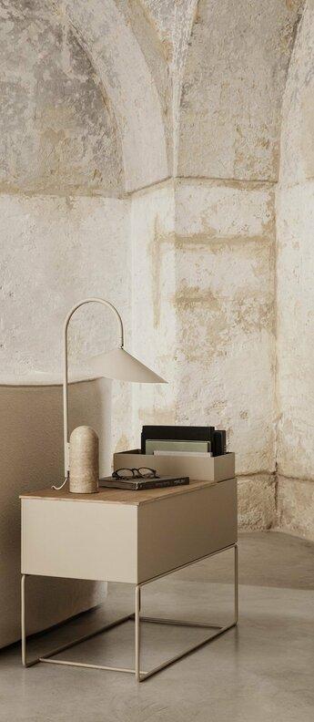Lampe a poser arum cashmere l25cm h50cm ferm living normal