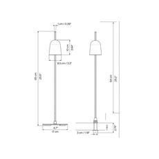 Ascent daniel rybakken lampe a poser table lamp  luceplan 1d780pt00001  design signed nedgis 78434 thumb