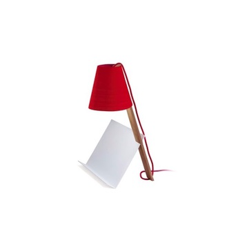 Lampe a poser asterisco rouge h43cm lzf normal