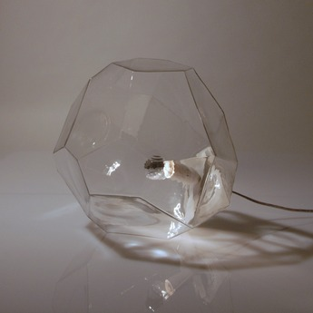 Lampe a poser asteroid transparent o30cm innermost normal