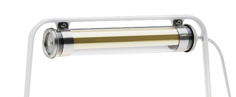 Lampe a poser astrup blanc or led l60cm h35cm sammode normal