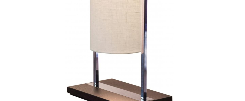 Lampe a poser athena lin blanc l27 5cm h60cm contardi normal