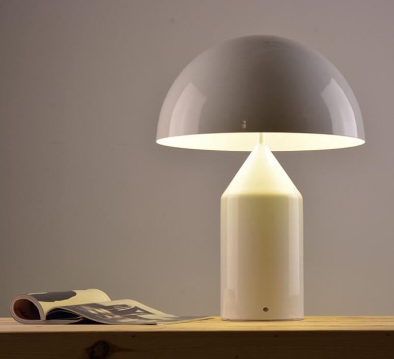 Atollo vico magistretti oluce 233 white luminaire lighting design signed 22110 product
