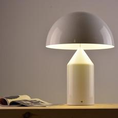Atollo vico magistretti oluce 233 white luminaire lighting design signed 22110 thumb
