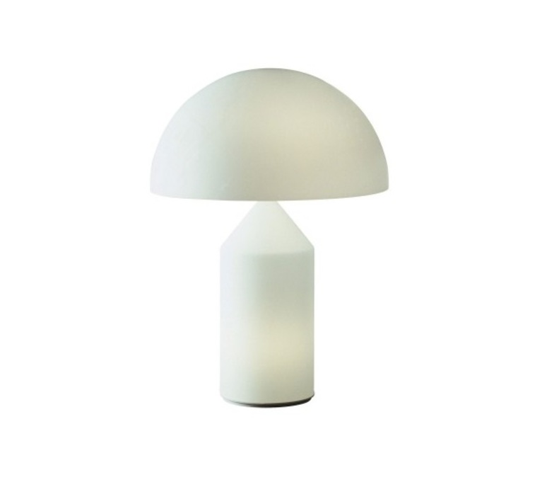 Atollo vico magistretti oluce 233 white luminaire lighting design signed 22113 product