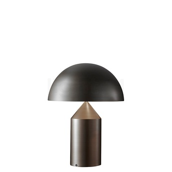 Lampe a poser atollo bron ze h35cm oluce normal