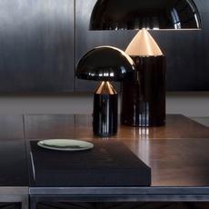 Atollo vico magistretti oluce 238 black luminaire lighting design signed 22143 thumb