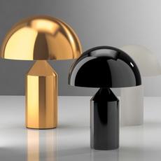Atollo vico magistretti oluce 238 black luminaire lighting design signed 22144 thumb