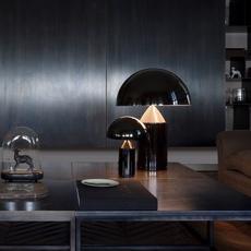 Atollo vico magistretti oluce 238 black luminaire lighting design signed 22146 thumb