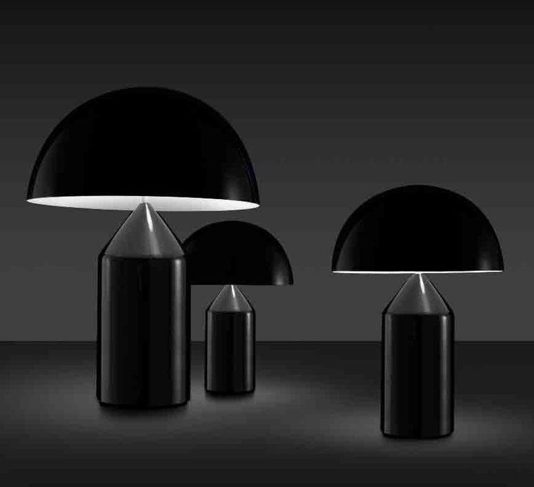 Atollo vico magistretti oluce 238 black luminaire lighting design signed 22147 product