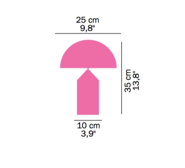 Atollo vico magistretti oluce 238 black luminaire lighting design signed 22148 product