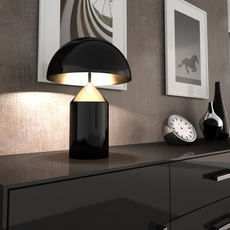Atollo vico magistretti oluce 233 black luminaire lighting design signed 22117 thumb