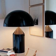 Atollo vico magistretti oluce 233 black luminaire lighting design signed 22118 thumb