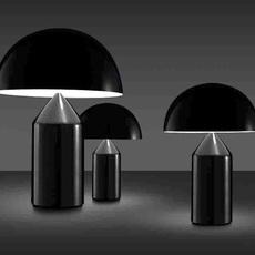 Atollo vico magistretti oluce 233 black luminaire lighting design signed 22120 thumb