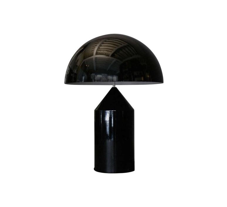 Atollo vico magistretti oluce 233 black luminaire lighting design signed 22121 product