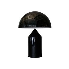 Atollo vico magistretti oluce 233 black luminaire lighting design signed 22121 thumb