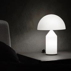 Atollo vico magistretti oluce 236 opaline luminaire lighting design signed 22149 thumb